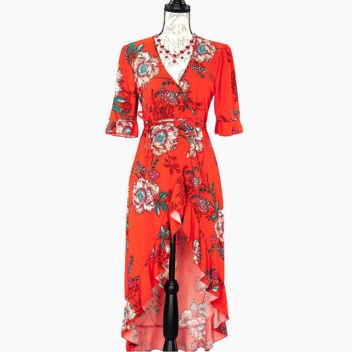 0715 HAUTE PROJECT WRAP DRESS