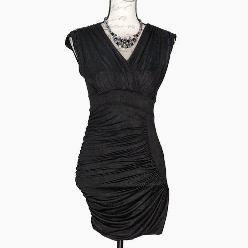 0782 AQUA COCKTAIL DRESS
