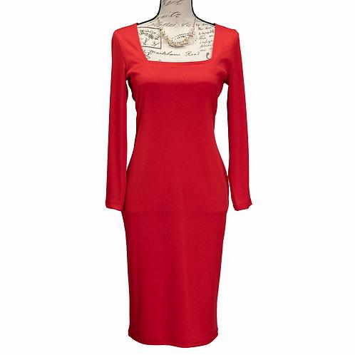 0515 RED CBR DRESS