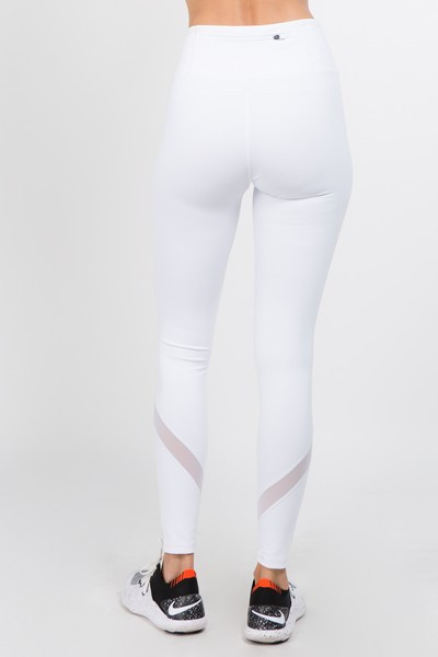 8eb23fa21c1c6 These lightweight mid-rise leggings offer maximum comfort and effortless  style to get you through your workout. Our mesh panel compression leggings  are ...