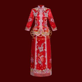 BEADED QUN GUA 绣珠裙褂