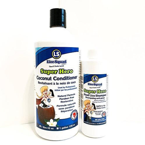 Lice Prevention Kit - Family of 4