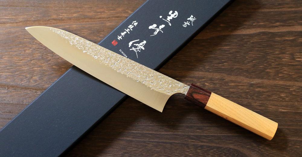 """""""shizuku"""" gyuto 210 mm"""