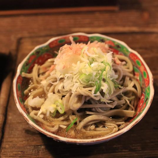regional food Echizen oroshi soba noodle