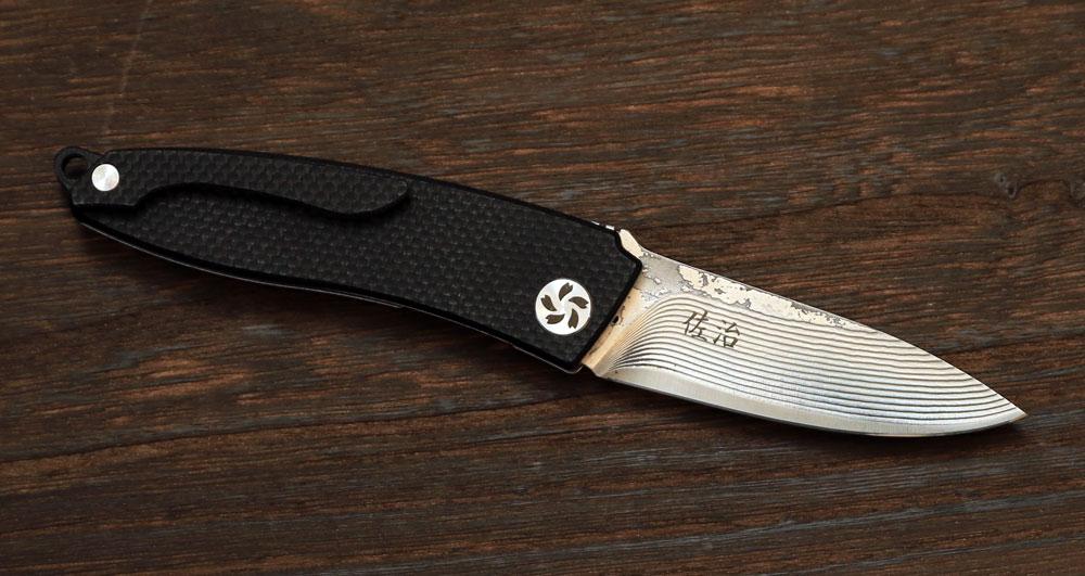 folding knife 75 mm
