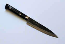 hammered blade petty knife 130 mm