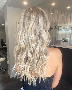 handtied blonde hair