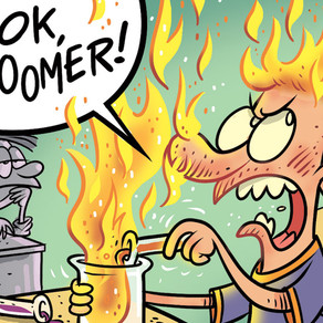 ISSUE 5 IS LITERALLY ON FIRE