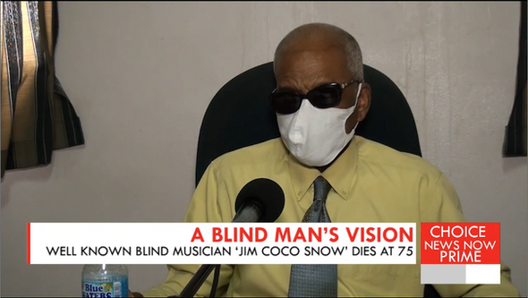 A BLIND MAN'S VISION