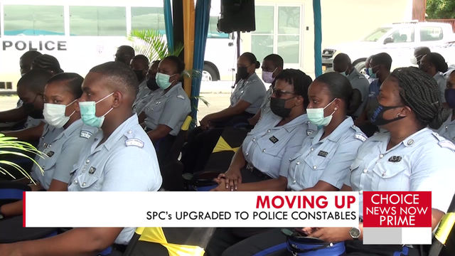 A number of Special Police Constables, or SPC's, were upgraded to the rank of Police Constable.