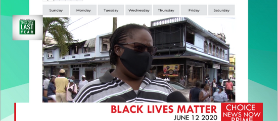What does the global black lives matter movement really mean to us here in Saint Lucia?