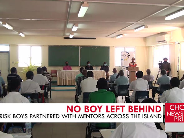 The Our Boys Matter program seeks to partner at risk boys with mentors across the island.
