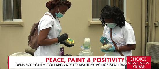 PEACE, PAINT & POSITIVITY