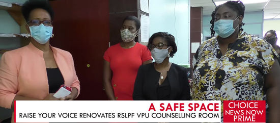 RSLPF benefits from upgrades and improvements to its Safe Spaces Initiative.