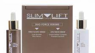 SLIM FACE LIFT. DUO FORCE SERUMS. Set of two serums.