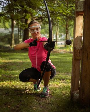 Combat archery tag Upzone