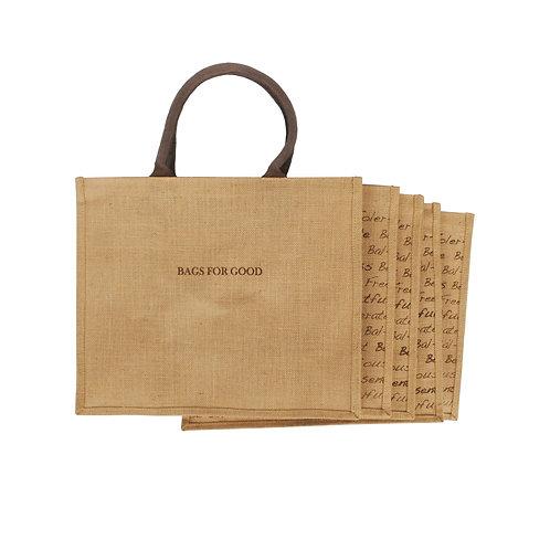 Pack of 5 Jute Bags