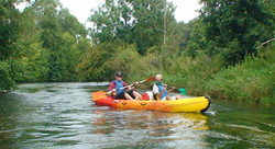 Canoé sur l'Epte à 15km
