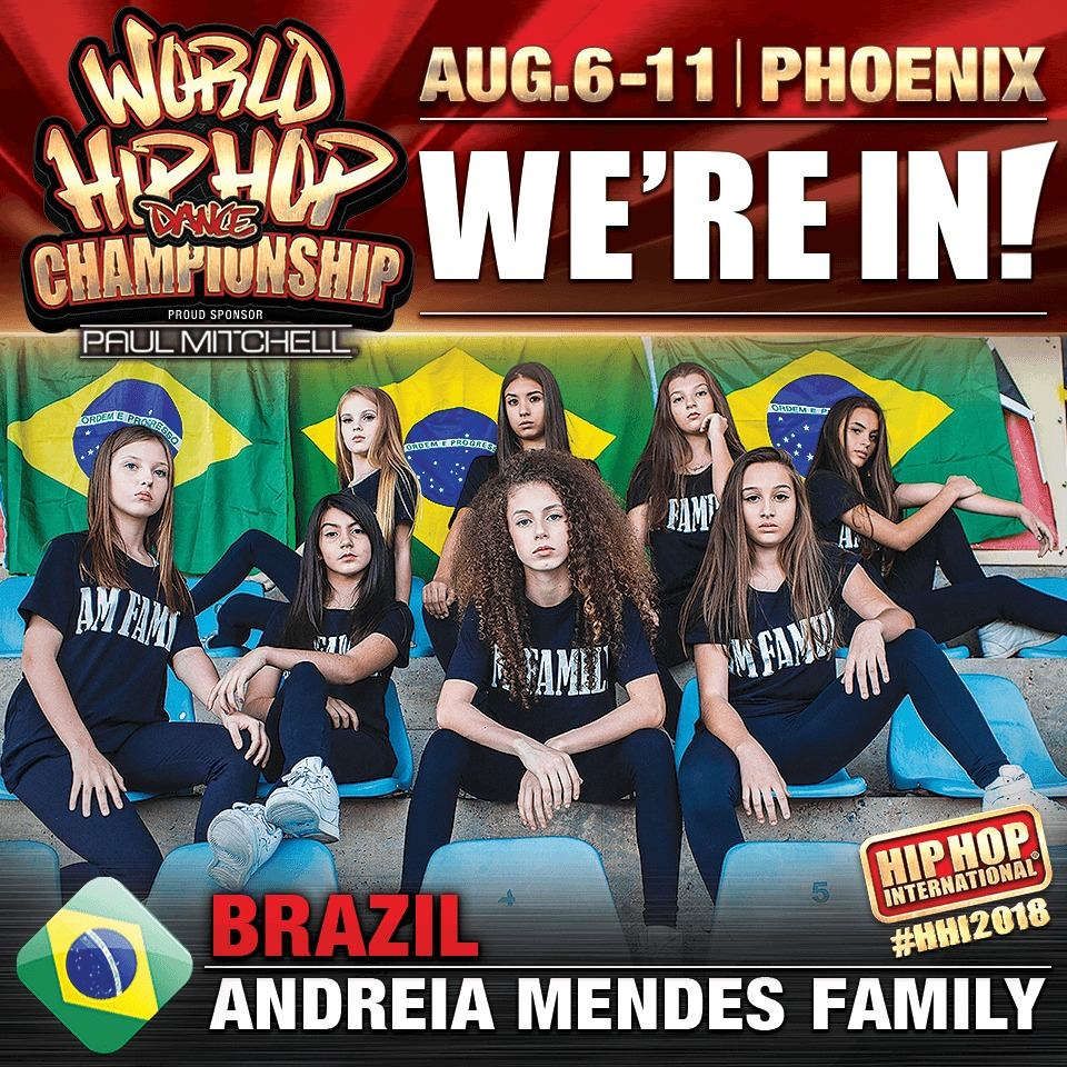 ANDREIA MENDES FAMILY- JUNIOR. HHI