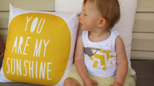 Evie's 1st Birthday - You are my Sunshine