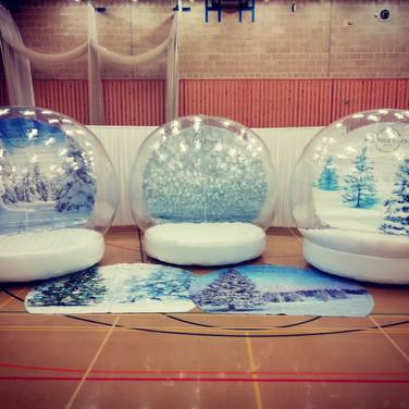 Advertising Snow Globe