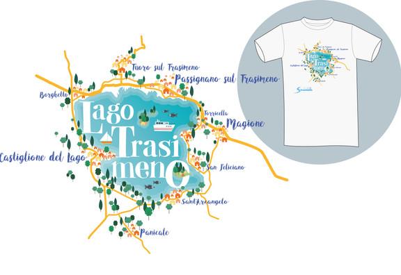 Illustrazione su maglietta