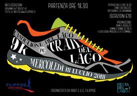 """Volantino """"Trail del lago"""""""