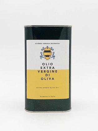 Extra virgin olive oil, tank 1 liter