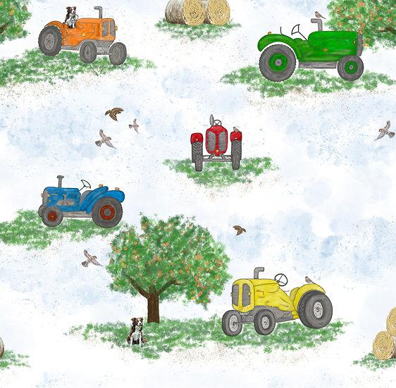 Bummie Romper - On The Farm