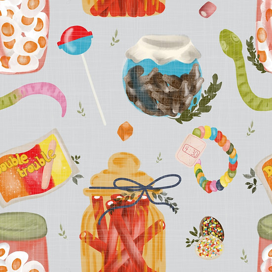 Cycling Shorts - Candy shop