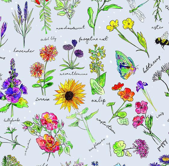 Bummie Romper - Wildflowers