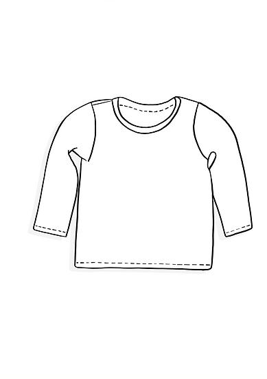 Long sleeved T-shirt - Surprise Sunday Print