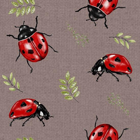 Bummie Romper - Ladybug ball