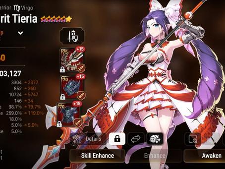 Epic Seven: Free Spirit Tieria Build
