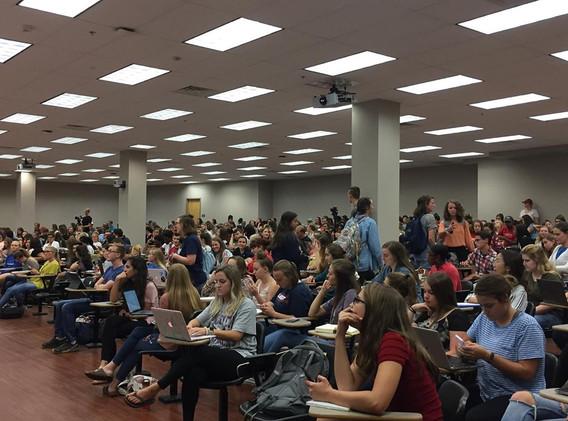 Liberty University Psychology Department Event