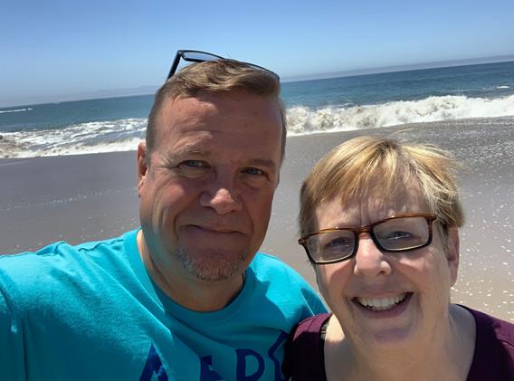 Scott and I in Santa Cruz