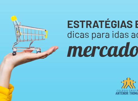 Dicas para as idas ao supermercado: estratégia de compras para não gerar desperdício