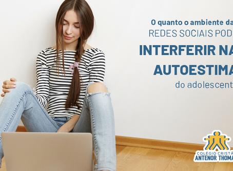 O quanto o ambiente das redes sociais pode interferir na autoestima do adolescente