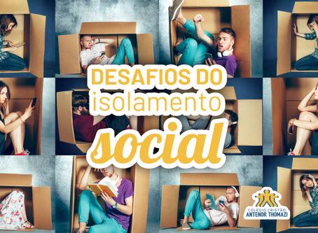 Os desafios do isolamento social: como ajudar o adolescente a lidar com este momento
