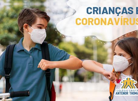 Crianças e Coronavírus: A importância do diálogo entre pais e escola