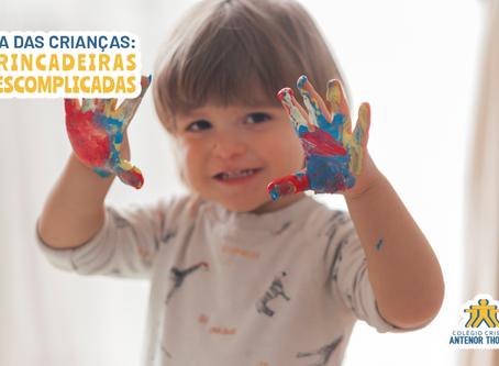 Dia das Crianças: brincadeiras descomplicadas