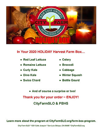 What's in the box NovDec Holiday Box 202
