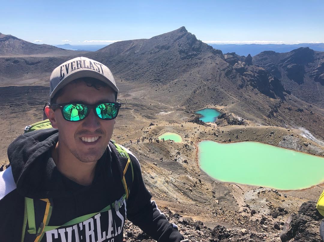 En Tongariro Alpine