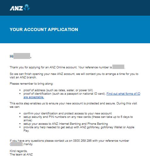 Paso a paso para abrir on-line tu cuenta de banco en el ANZ