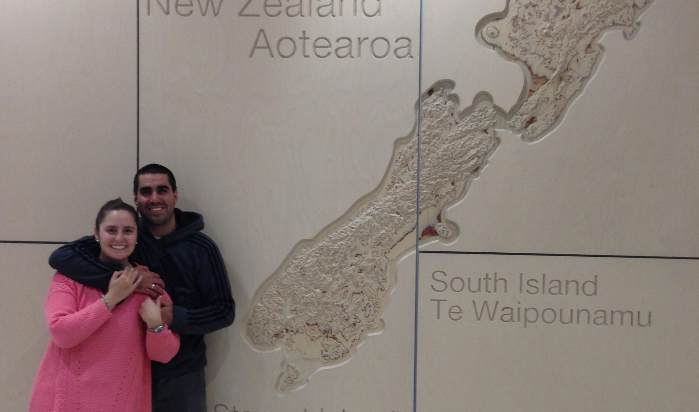Aeropuerto de Auckland, New Zealand,