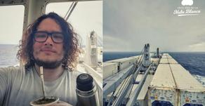 Salteño en alta mar en plena pandemia mundial