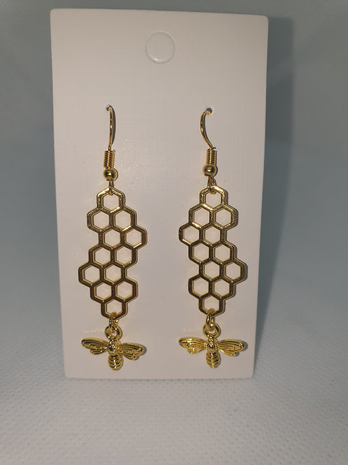 Honeycomb bee - Long