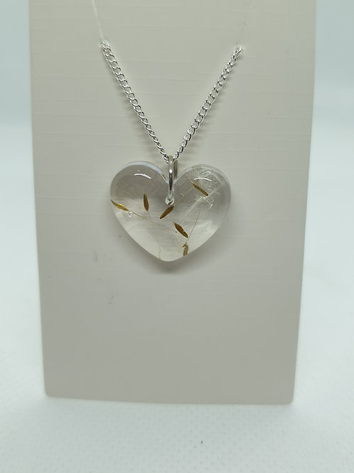 Heart wish necklace
