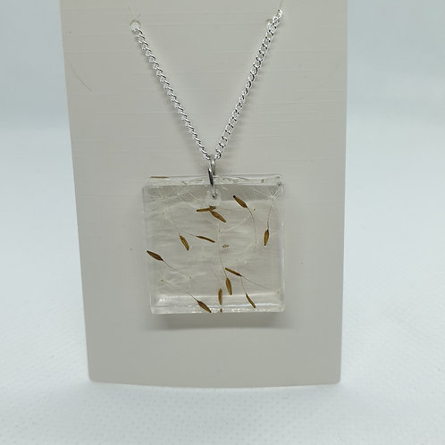 Square wish necklace