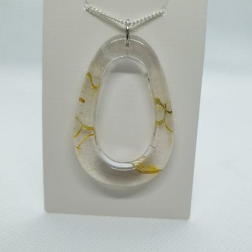 Dandelion petal necklace